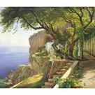 Giclee Print: Pergola in Amalfi by Carl Frederic Aagaard : 42x60in