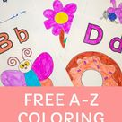 FREE A-Z Coloring Pages