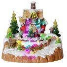LED-Weihnachtszene Lebkuchen Haus