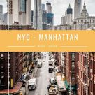 Absolute Guide to best of NYC   Manhattan incl. Instagram Spots
