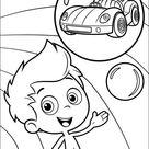 Ausmalbilder Kinder Bubble Guppies 6