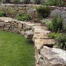 50 Backyard Retaining Wall Ideas and Terraced Gardens (Photos)