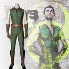 Xcoser The Boys Season 2 The Deep Jumpsuit Outfits Halloween Carnival Suit Cosplay Costume 2020 - M
