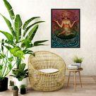 Orchid Queen Art Print - 8x8
