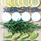 DIY Citronella Candles with Herbs - On Sutton Place