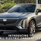 All-Electric 2023 Cadillac Lyriq Reveal