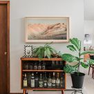 Tour Our Casual Mid Century Living Room
