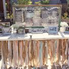 Rustic Seating Charts
