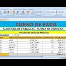 Como descobrir vínculos entre expressões ou fórmulas e células precedentes e dependentes no Excel