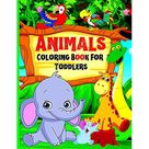 Coloring Book Animals For Toddlers: Easy and fun educational coloring pages with animals for toddlers ages 1-4, boys, girls, preschool and kindergarten Simple Coloring Book for Kids (Paperback)