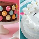 4 unglaublich einfache Deko-Ideen für Kuchen & Torten