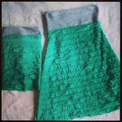 Turquoise Maxi Skirts