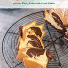 Wunderschön saftiger und klassischer Marmorkuchen