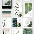 Download premium vector of Natural social media template vector by Busbus about instagram, instagram mockup, instagram post, banner template app, and instagram layout 579556
