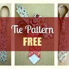 Tie Pattern Free - My Handmade Space