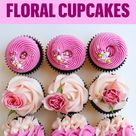 How to decorate floral cupcakes