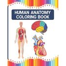 Human Anatomy Coloring Book (Paperback)