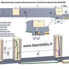 Comment Poser Un Portail Coulissant Montage Et Installation Le Portail Alu Portail Coulissant Portail Coulissant 5m Portail Coulissant Electrique