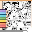 Halloween Coloring Page FREEBIE