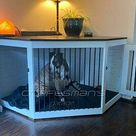 DIY Dog Kennel Plans To Build Your Own Wood Double Dog Crate   Etsy