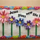 Easter Bulletin Boards