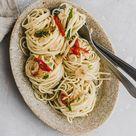 Spaghetti Aglio, Olio e Peperoncino Rezept - Aline Made