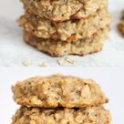 Tahini Banana Breakfast Cookies