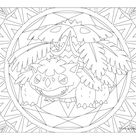#003 Venusaur Pokemon Coloring Page · Windingpathsart.com