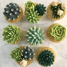 Kerry's Bouqcakes   Gallery - Cacti and Succulent Cupcakes