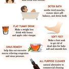 APPLE CIDER VINEGAR 10 BEST BENEFITS AND USES - The Little Shine