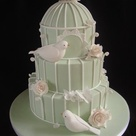 Garden Wedding Cakes