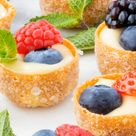Mini Fruit Tart Canapés with Creme Patissiere