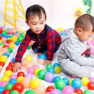 10PCS Plastic Baby Balls Pit Balls Swim Pool Balls Toy Play Tents Balls Water Pool Toys Baby Pool Toys Baby Funny Toy PX40