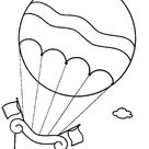 Kids-n-Fun | 11 coloring pages of Hot air balloons