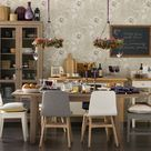 Mismatched Dining Room