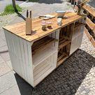 Kücheninsel | Küchenkonsole | 170x91x61 cm