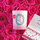 Diptyque x Olympia Le-Tan Rosaviola Candle - The Beauty Look Book