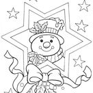 20 Free Printable Christmas Coloring Pages   Kids-Pic.com