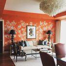 50 Fabulous Orange Rooms! - The Glam Pad