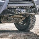CBI Front Skid Plate For Lexus GX460 2010-2021 - Aluminum / TRD Grey