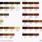 Shades Of Medium Brown Hair Color Chart