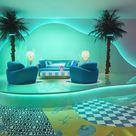 Versace and Sasha Bikoff Create a Maximalist Paradise at Milan Design Week