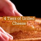 4 Tiers of Grilled Cheese