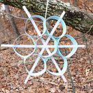Piping Paper Snowflake Tutorial