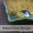 Baked Corn Recipes