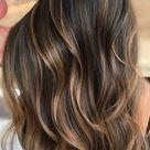 54 Beautiful Ways To Rock Brown Hair This Season : Shades of brown highlights