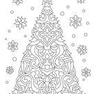 kerstboom mandala