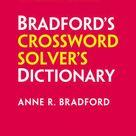 Collins Bradford's Crossword Solver's Dictionary by Anne R Bradford