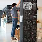 Chalk illustrations for the restaurant 'LADENLOKAL'