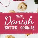 Vegan Danish Butter Cookies (aka Spritz Cookies!)